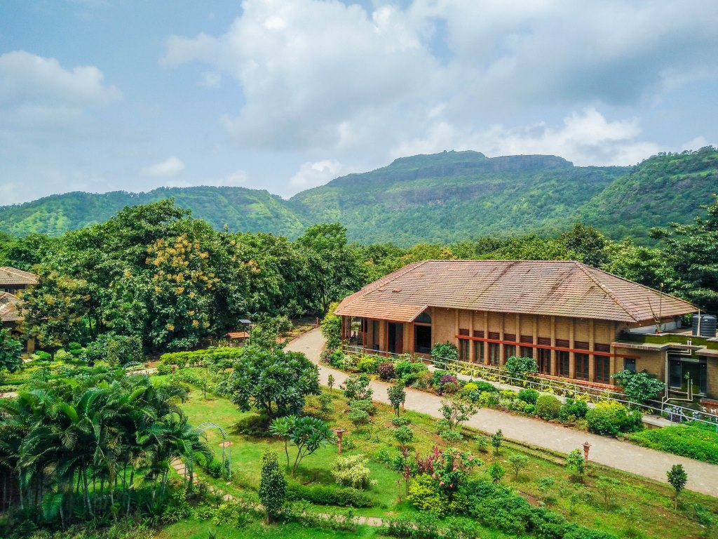 Green Buildings At Govardhan Ecovillage