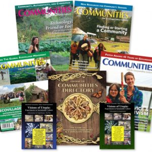 Communities Directory, Magazine Subscription, 2-DVD Visions of Utopia