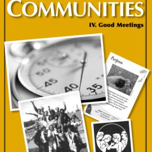 Best of Communities: IV. Good Meetings