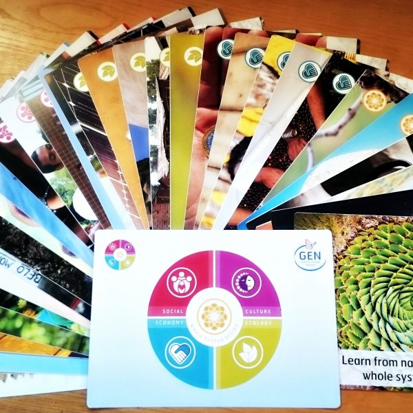 Ecovillage Playing Cards
