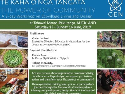 Te Kaha O Nga Tāngata – The Power of Community