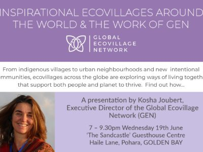 Inspirational Ecovillages around the World and the Work of GEN