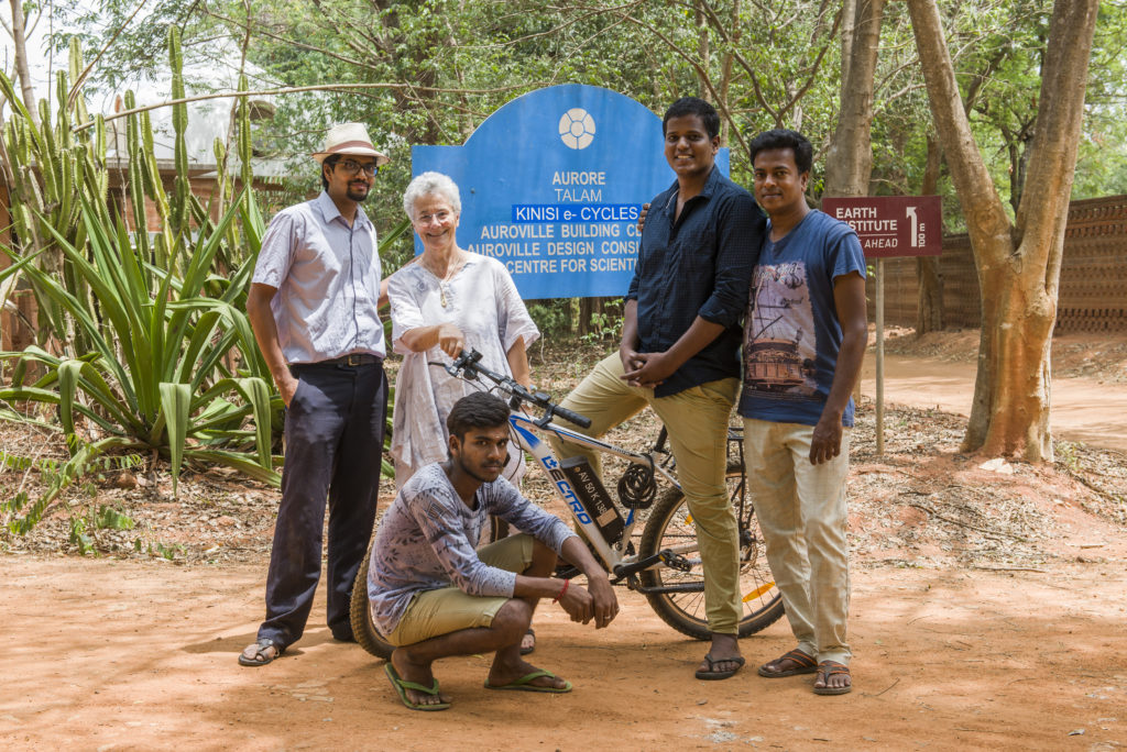 Kinisi Electric Bikes Auroville