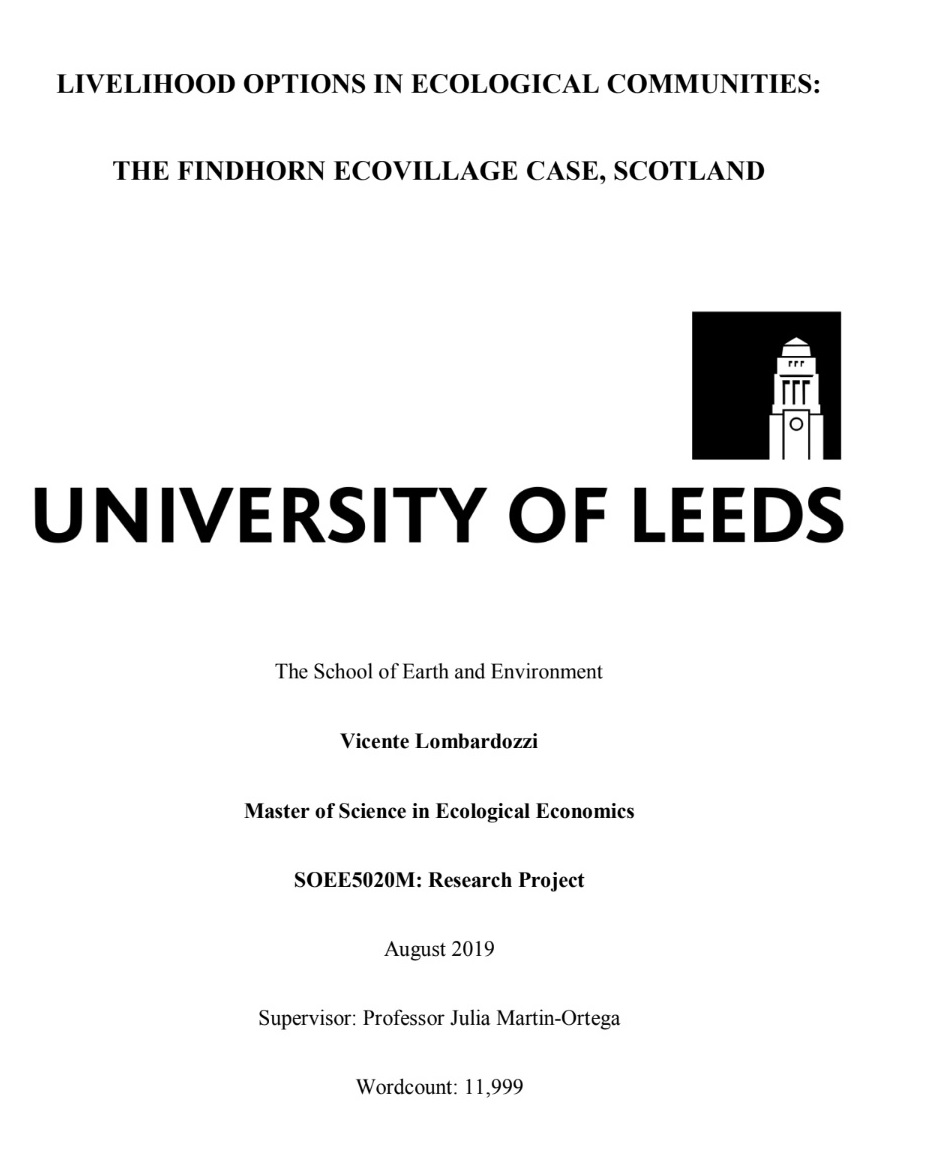 Dissertation environmental economics