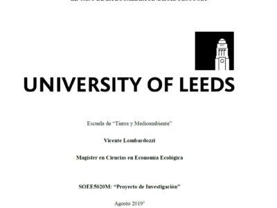 """Tesis de Economía Ecológica: """"Opciones de subsistencia en comunidades ecológicas"""""""