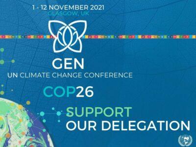 Support our COP26 Delegation!